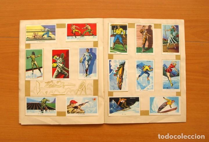Coleccionismo deportivo: Álbum Olimpiada, juegos y deportes - Editorial Ruiz Romero 1957 - Completo - Foto 9 - 76521327