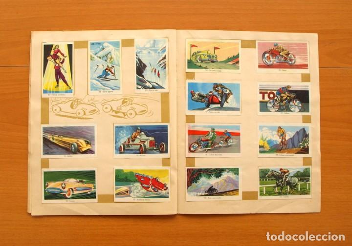 Coleccionismo deportivo: Álbum Olimpiada, juegos y deportes - Editorial Ruiz Romero 1957 - Completo - Foto 10 - 76521327