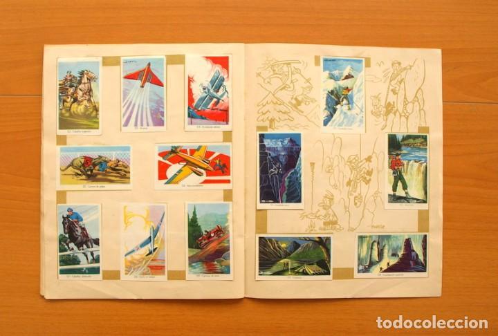 Coleccionismo deportivo: Álbum Olimpiada, juegos y deportes - Editorial Ruiz Romero 1957 - Completo - Foto 11 - 76521327