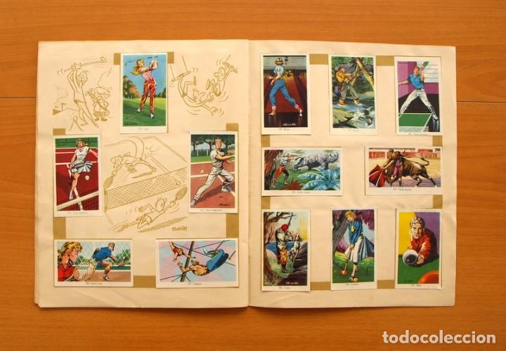 Coleccionismo deportivo: Álbum Olimpiada, juegos y deportes - Editorial Ruiz Romero 1957 - Completo - Foto 12 - 76521327