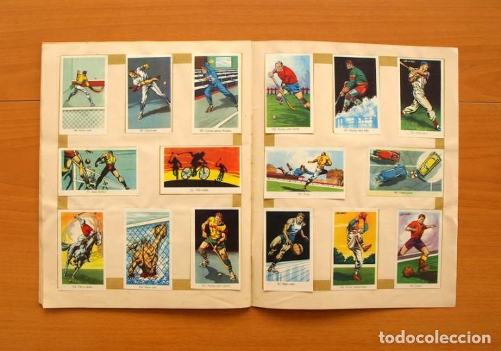 Coleccionismo deportivo: Álbum Olimpiada, juegos y deportes - Editorial Ruiz Romero 1957 - Completo - Foto 13 - 76521327