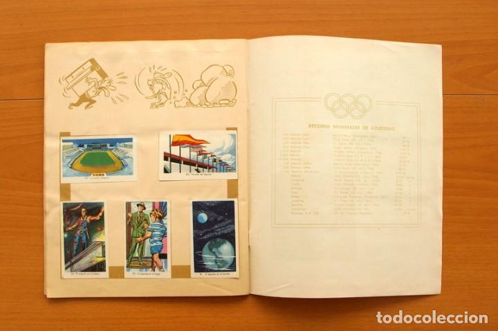 Coleccionismo deportivo: Álbum Olimpiada, juegos y deportes - Editorial Ruiz Romero 1957 - Completo - Foto 14 - 76521327