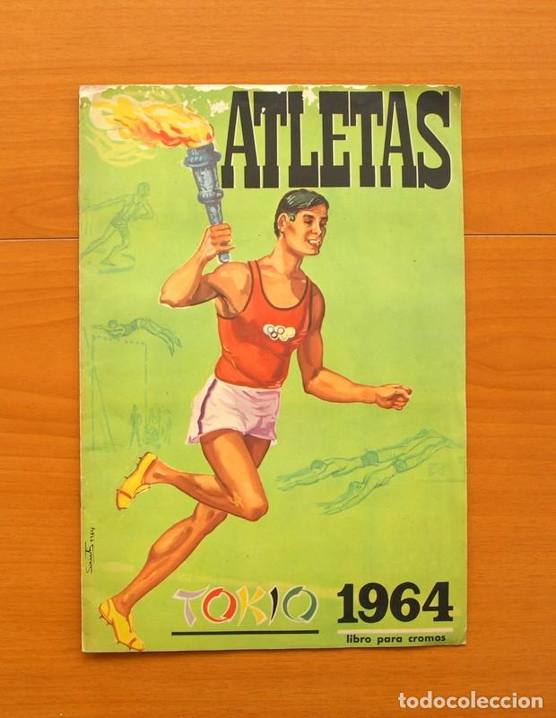 ATLETAS TOKIO 1964 - EDITORIAL FHER 1964 - COMPLETO - VER FOTOS EN EL INTERIOR (Coleccionismo Deportivo - Álbumes otros Deportes)