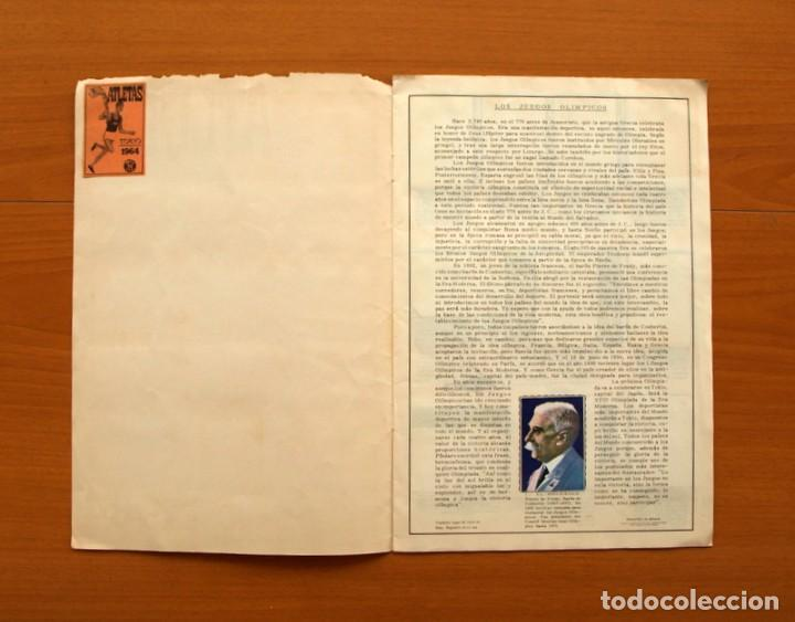 Coleccionismo deportivo: Atletas Tokio 1964 - Editorial Fher 1964 - COMPLETO - Ver fotos en el interior - Foto 2 - 76521979