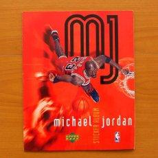 Coleccionismo deportivo: ÁLBUM MICHAEL JORDAN 1998 - COMPLETO - VER FOTOS EN EL INTERIOR. Lote 76523119