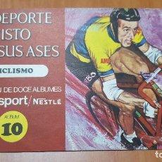 Coleccionismo deportivo: ÁLBUM EL DEPORTE VISTO POR SUS ASES CICLISMO . Lote 79871089