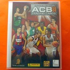 Coleccionismo deportivo: TRADING CARDS COLECCIÓN OFICIAL A.C.B. 2008-2009, 08-09 - COMPLETO - PANINI - VER FOTOS INTERIOR. Lote 83496888