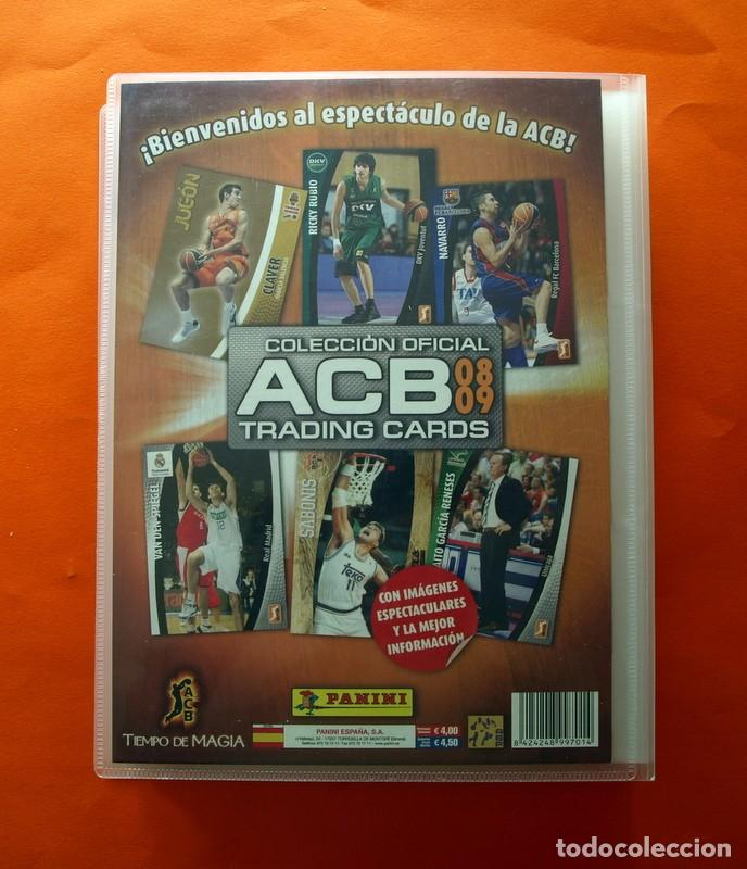 Coleccionismo deportivo: Trading Cards Colección oficial A.C.B. 2008-2009, 08-09 - COMPLETO - Panini - Ver fotos interior - Foto 43 - 83496888