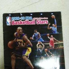 Coleccionismo deportivo: ALBUM CROMOS NBA 2009 - 2010 09 - 10 CON 72. Lote 122925472