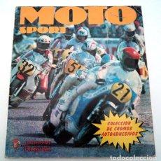 Coleccionismo deportivo: ALBUM 1980 MOTO SPORT PANINI CON 305 CROMOS ESCUDOS PILOTOS MOTOS MARCAS CIRCUITOS. FALTAN POCOS. Lote 86856356