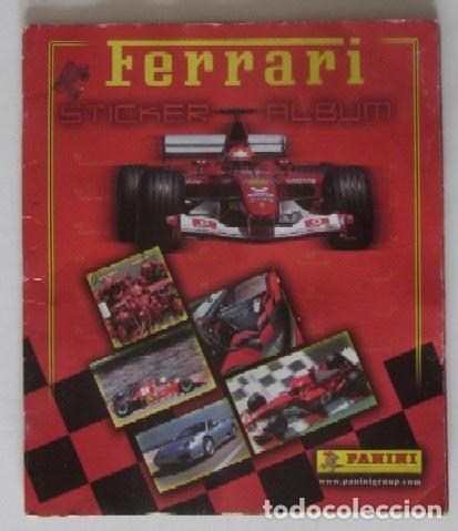 ALBUM FERRARI DE PANINI (Coleccionismo Deportivo - Álbumes otros Deportes)