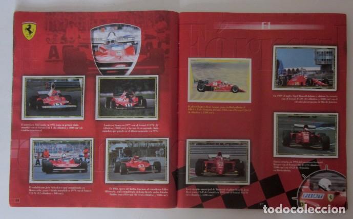 Coleccionismo deportivo: ALBUM FERRARI DE PANINI - Foto 7 - 87367944