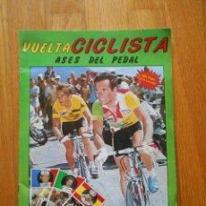 Coleccionismo deportivo: ALBUM ASES DEL PEDAL 1987, MERCHANTE, LEER. Lote 88507680