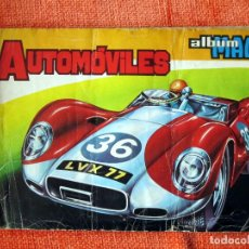 Coleccionismo deportivo: ALBUM COMPLETO MAGA AUTOMÓVILES. Lote 90993040