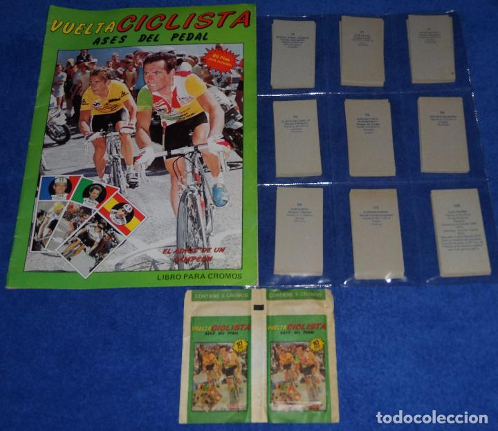 VUELTA CICLISTA - ASES DEL PEDAL - J.MERCHANTE (1987) (Coleccionismo Deportivo - Álbumes otros Deportes)