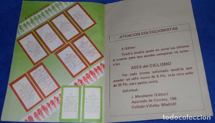 Coleccionismo deportivo: Vuelta ciclista - Ases del pedal - J.Merchante (1987) - Foto 8 - 93198460