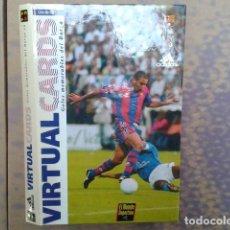 Coleccionismo deportivo: 11 VIRTUAL CARDS GOLES DEL BARCELONA 1997 - RONANDO - STOICHKOV -ROMARIO - BAKERO -KOEMAN...... Lote 97051555