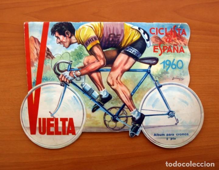 ÁLBUM CICLISMO - VUELTA CICLISTA A ESPAÑA 1960 - EDITORIAL FHER - COMPLETO (Coleccionismo Deportivo - Álbumes otros Deportes)