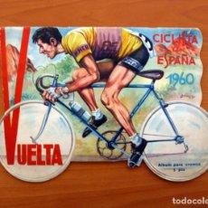 Coleccionismo deportivo: ÁLBUM CICLISMO - VUELTA CICLISTA A ESPAÑA 1960 - EDITORIAL FHER - COMPLETO. Lote 97763767