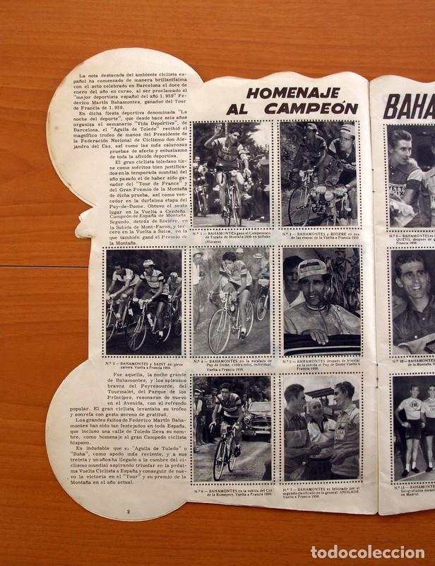 Coleccionismo deportivo: Álbum Ciclismo - Vuelta ciclista a España 1960 - Editorial Fher - Completo - Foto 3 - 97763767