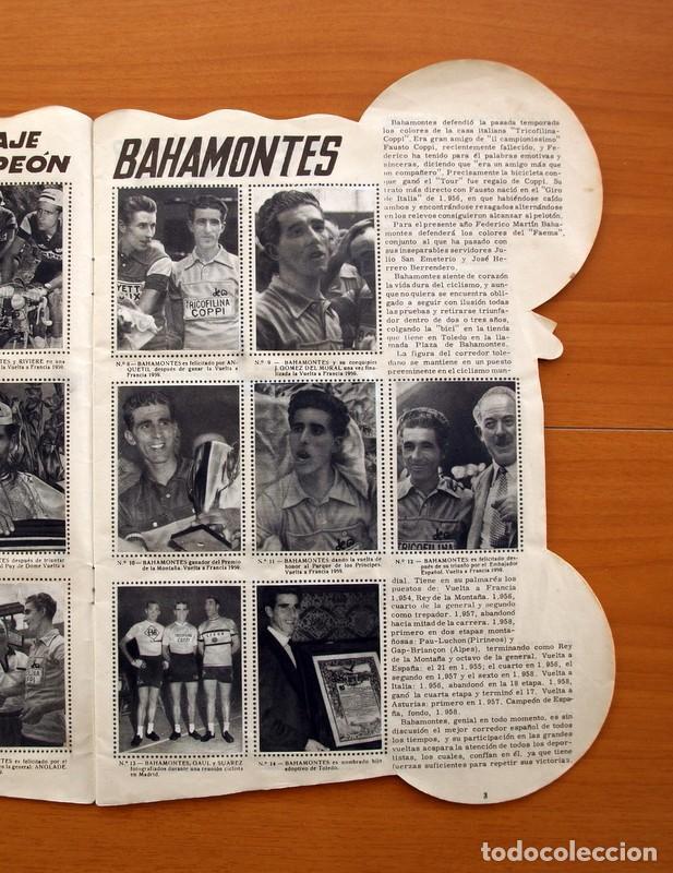 Coleccionismo deportivo: Álbum Ciclismo - Vuelta ciclista a España 1960 - Editorial Fher - Completo - Foto 4 - 97763767