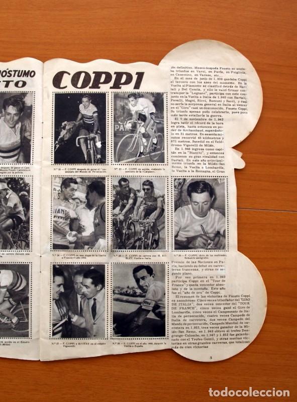 Coleccionismo deportivo: Álbum Ciclismo - Vuelta ciclista a España 1960 - Editorial Fher - Completo - Foto 6 - 97763767