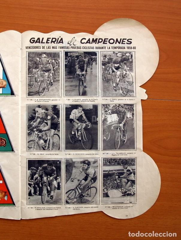 Coleccionismo deportivo: Álbum Ciclismo - Vuelta ciclista a España 1960 - Editorial Fher - Completo - Foto 24 - 97763767