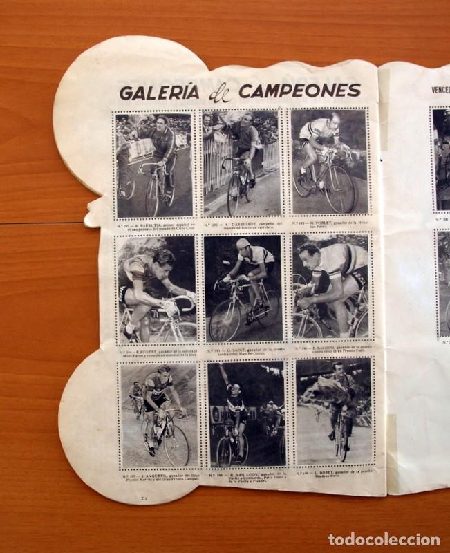 Coleccionismo deportivo: Álbum Ciclismo - Vuelta ciclista a España 1960 - Editorial Fher - Completo - Foto 25 - 97763767
