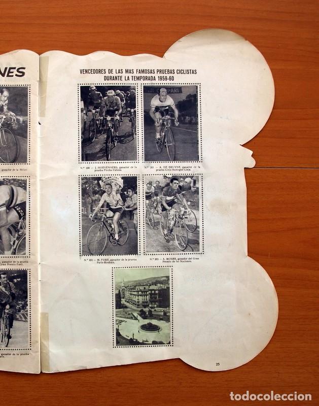 Coleccionismo deportivo: Álbum Ciclismo - Vuelta ciclista a España 1960 - Editorial Fher - Completo - Foto 26 - 97763767