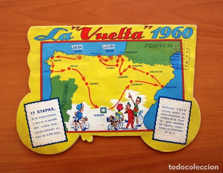 Coleccionismo deportivo: Álbum Ciclismo - Vuelta ciclista a España 1960 - Editorial Fher - Completo - Foto 27 - 97763767