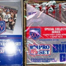 Coleccionismo deportivo: NFL CARDS PRO SET 1990. Lote 97922515