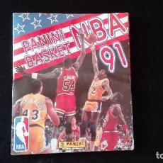 Coleccionismo deportivo: ALBUM CROMOS NBA 91 . Lote 98206971