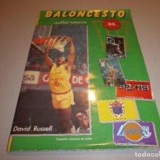Coleccionismo deportivo: ALBUM COMPLETO BALONCESTO 88 . Lote 98859379