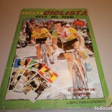 Coleccionismo deportivo: ALBUM COMPLETO VUELTA CICLISTA ASES DEL PEDAL VER FOTOS. Lote 177289065