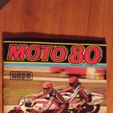 Coleccionismo deportivo: ALBUM MOTO 80, EDICIONES ESTE. Lote 98987743