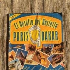 Coleccionismo deportivo: ÁLBUM EL DESAFÍO DEL DESIERTO PARIS DAKAR. Lote 99732595