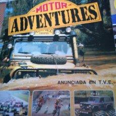 Coleccionismo deportivo: ÁLBUM COMPLETO MOTOR ADVENTURES. Lote 102482298