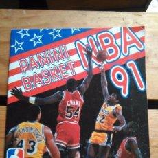 Coleccionismo deportivo: BALONCESTO - ALBUM PANINI BASKET NBA 1991 - 177 CROMOS - BUEN ESTADO. Lote 103238815