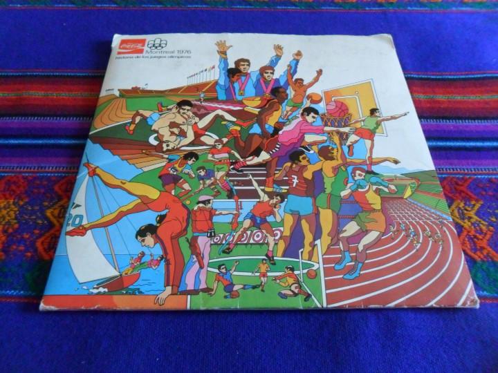 MONTREAL 1976 HISTORIA DE LOS JUEGOS OLÍMPICOS COMPLETO 84 CROMOS. COCA COLA. REGALO VACÍO COLA CAO. (Coleccionismo Deportivo - Álbumes otros Deportes)