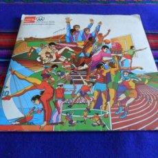 Coleccionismo deportivo: MONTREAL 1976 HISTORIA DE LOS JUEGOS OLÍMPICOS COMPLETO 84 CROMOS. COCA COLA.. Lote 85038768