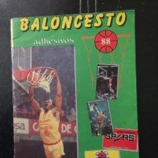 Coleccionismo deportivo: ALBUM BALONCESTO 88. COMPLETO AL 90%. Lote 103818851