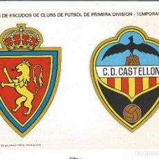 Coleccionismo deportivo: CROMO TROQUELADO GRANDE DE ESCUDOS DE FUTBOL LOS QUE VEN EN IMAGENES TEMPORADA 1972-73. Lote 103889771
