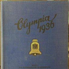 Coleccionismo deportivo: 1936, III REICH OLIMPIADAS DE BERLÍN, ÁLBUM COMPLETO DE LOS DEPORTES DE INVIERNO. Lote 103967827