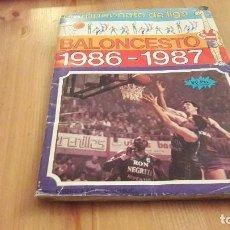 Coleccionismo deportivo: MERCHANTE 86 87 BALONCESTO ALBUM INCOMPLETO. Lote 104319091
