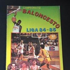 Coleccionismo deportivo: ALBUM DE CROMOS CAMPEONATO BALONCESTO LIGA 84-85 1ª DIVISION NUEVO VACIO. Lote 206283646