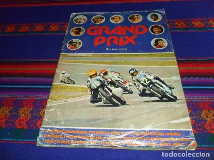 GRAND PRIX COMPLETO. EDITORIAL FHER 1977. MOTOCICLISMO MOTORISMO. DIFÍCIL. (Coleccionismo Deportivo - Álbumes otros Deportes)
