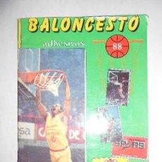 Coleccionismo deportivo: ALBUM BALONCESTO ADHESIVOS 88 - TIENE 17 CROMOS - VER FOTOS. Lote 109493919