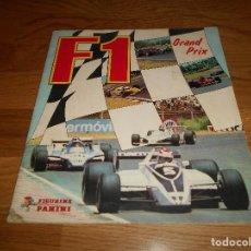 Coleccionismo deportivo: PANINI ALBUM F1 GRAN PRIX FORMULA 1 INCOMPLETO BUEN ESTADO FALTAN 27 CROMOS. Lote 110263343
