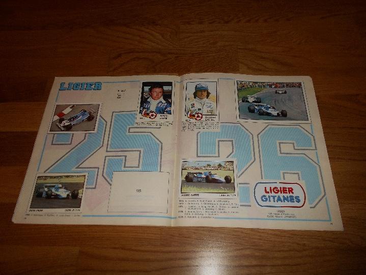 Coleccionismo deportivo: PANINI ALBUM F1 GRAN PRIX FORMULA 1 INCOMPLETO BUEN ESTADO FALTAN 27 CROMOS - Foto 15 - 110263343