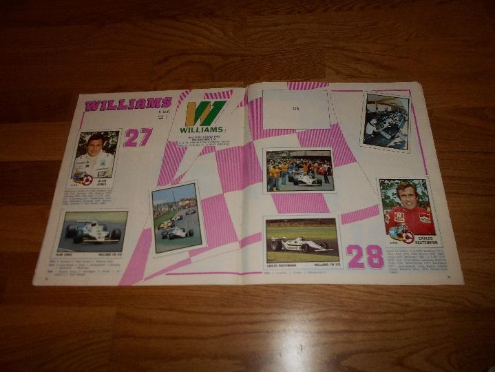 Coleccionismo deportivo: PANINI ALBUM F1 GRAN PRIX FORMULA 1 INCOMPLETO BUEN ESTADO FALTAN 27 CROMOS - Foto 16 - 110263343